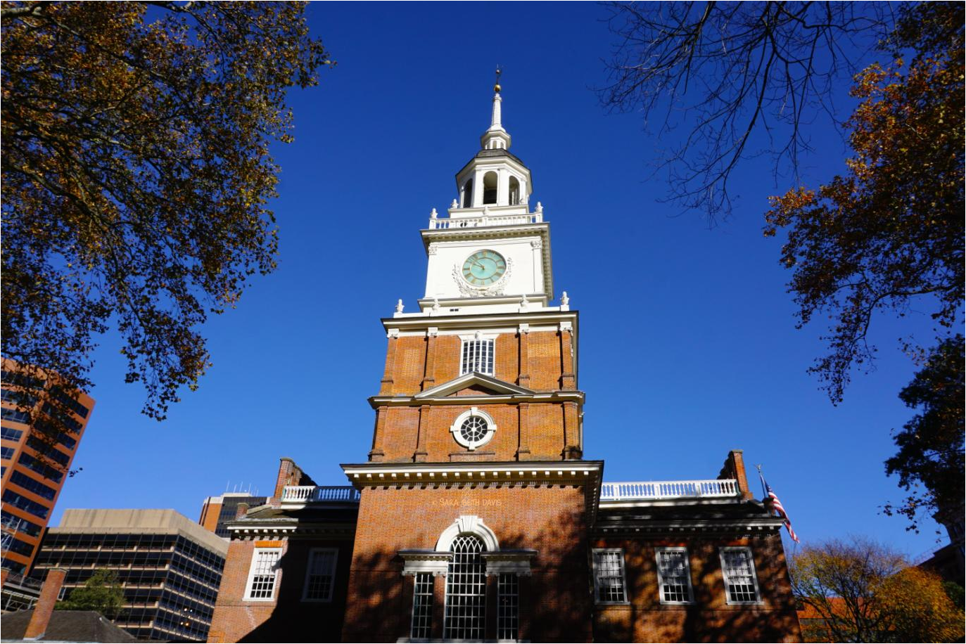 Visiting Independence National Historical Park in Downtown Philadelphia, Pennsylvania