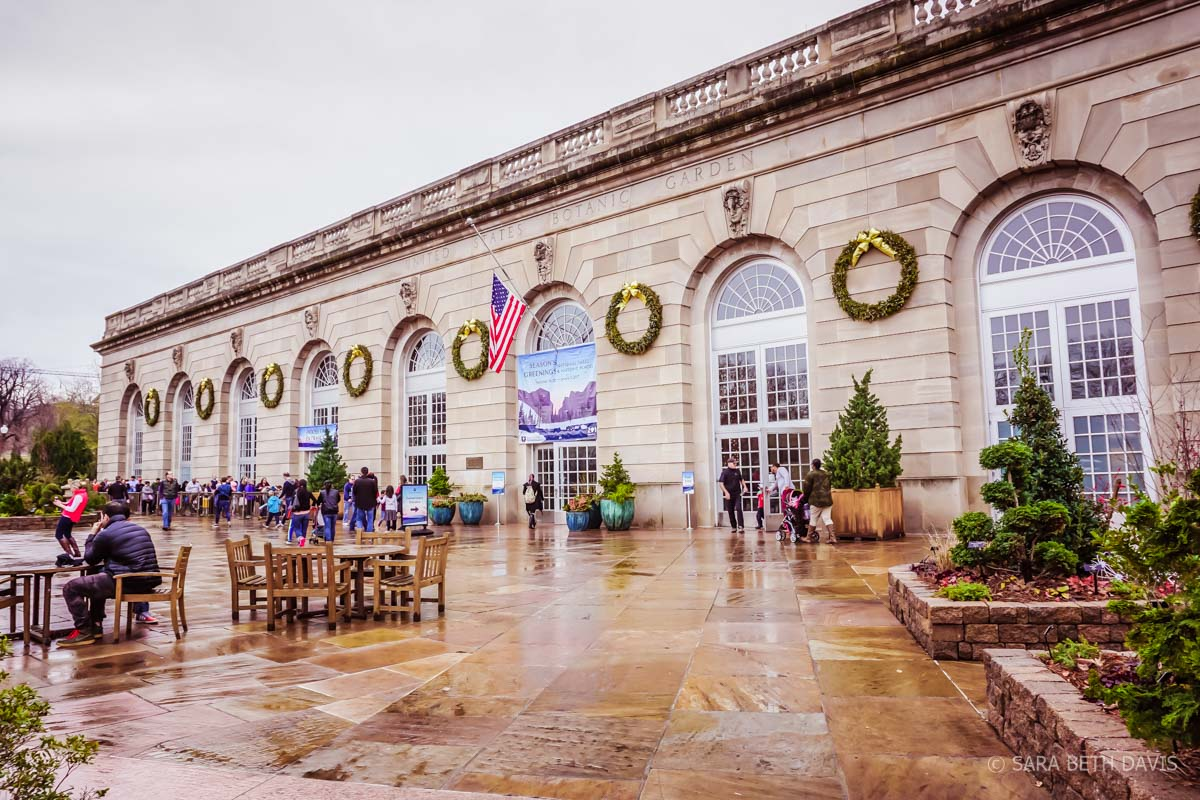 Celebrate the Holiday Season in DC at the United States Botanic Garden Holiday Exhibit on Our National Parks and Historic Places
