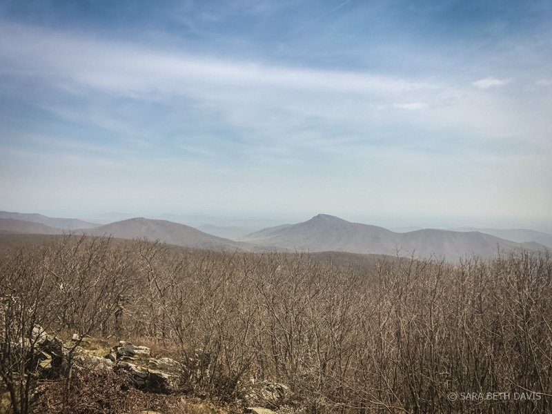 Lower Hawksbill Summit Hike in Shenandoah National Park