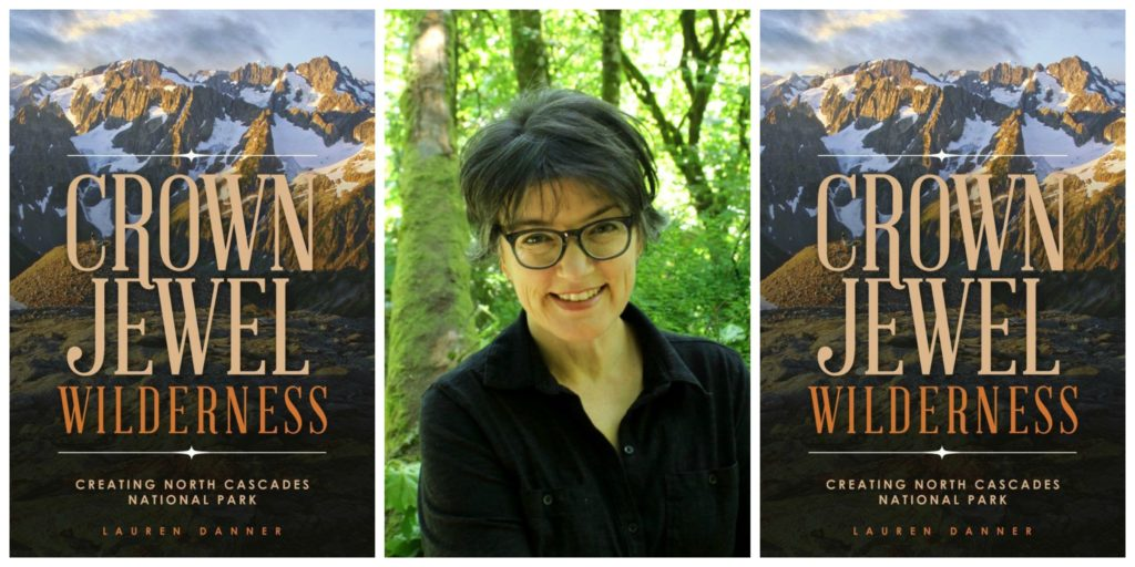 crown jewel wilderness book cover and lauren danner author photo