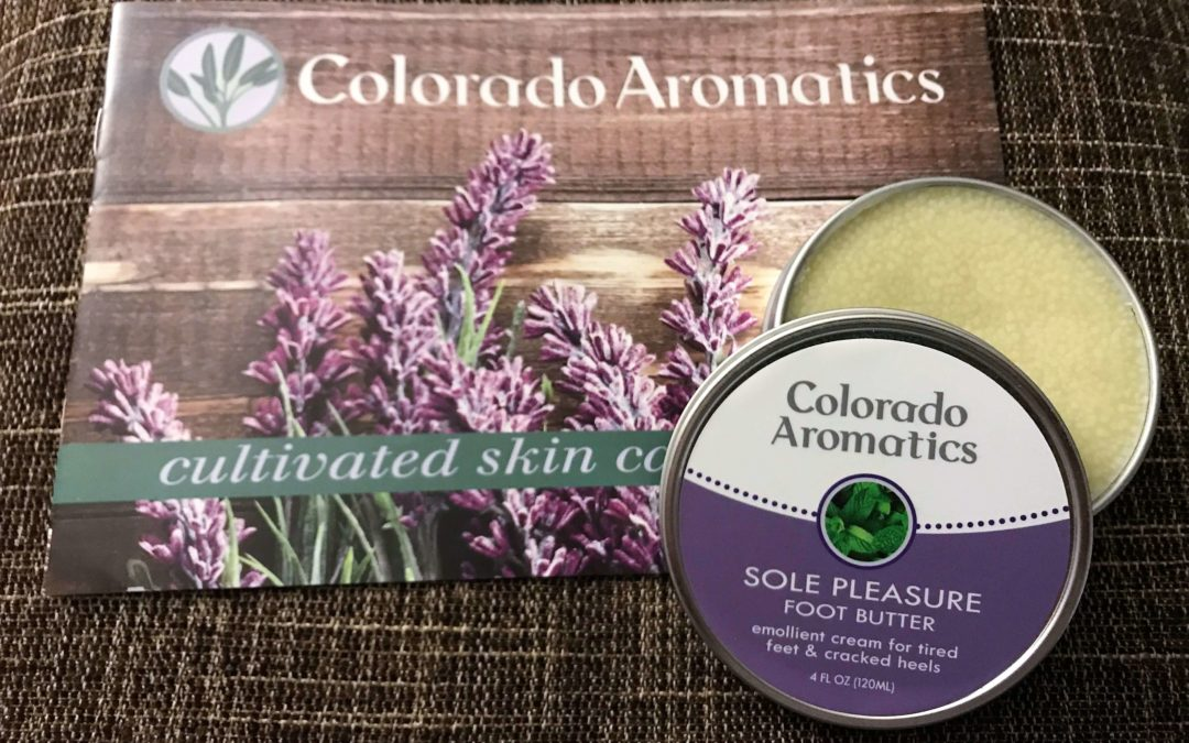 REVIEW: Colorado Aromatics Sole Pleasure Foot Butter
