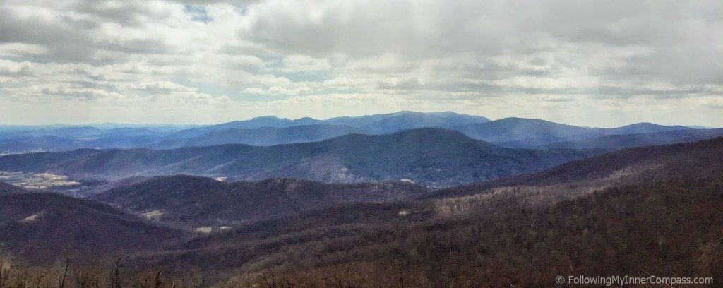 Early Spring Scenic Drive in Shenandoah National Park